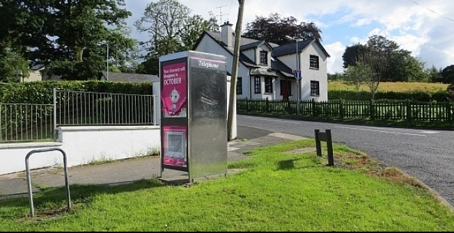 Advertising in Kiosks in Achriesgill